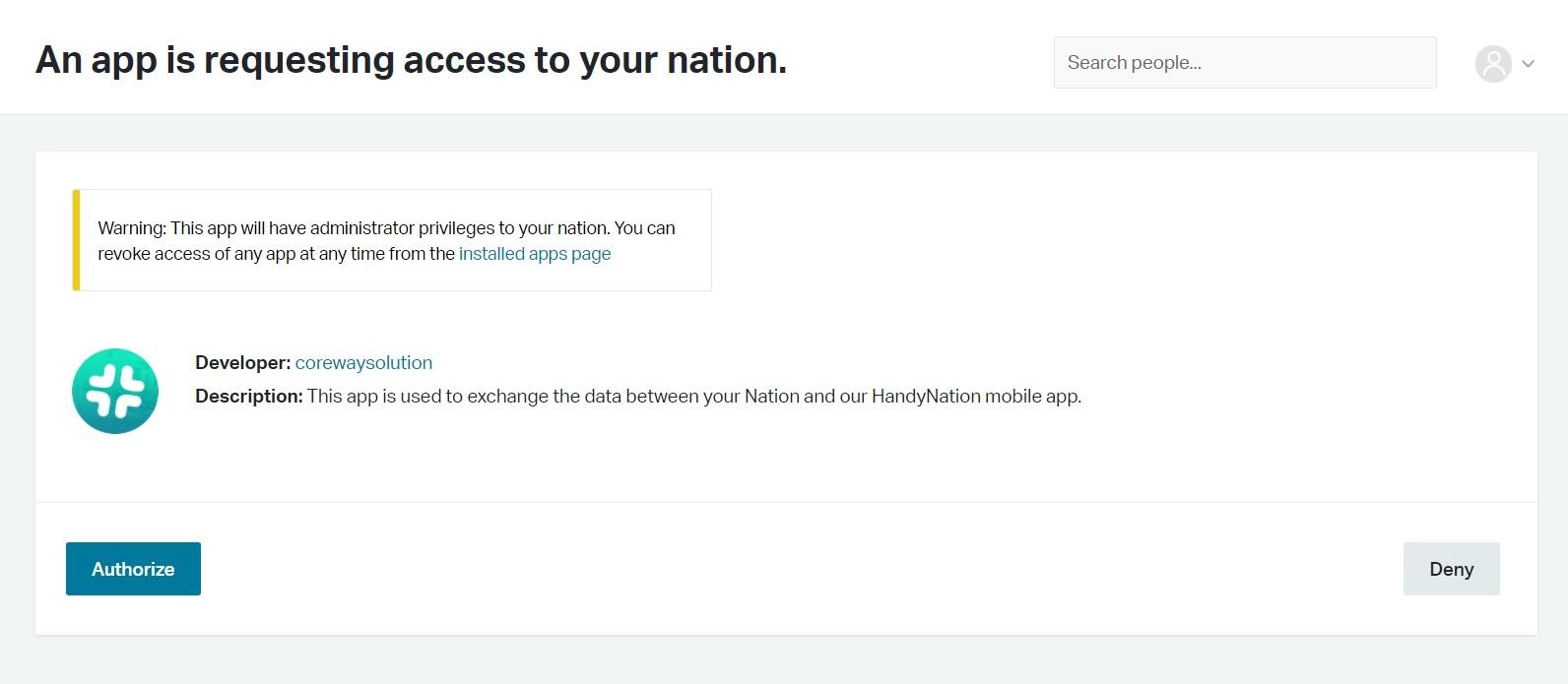 app-authorization