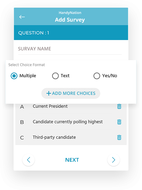 custom-survey